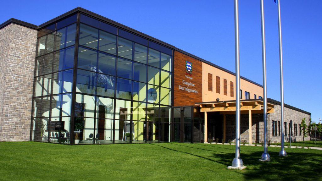 Campus de Lotbinière - Vue extérieure